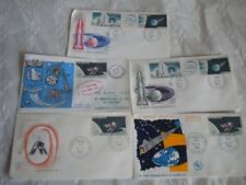 French First Day Cover Space Postal Stamps