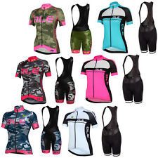 New Women Cycling Jersey And Bib Shorts Set Cycling Clothing