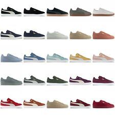 PUMA SUEDE CLASSIC TRAINERS - BLACK, BLUE, BURGUNDY, GREY, NAVY, GREEN & MORE