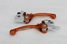 AIRTIME NEW KTM 125SX 150SX (2016-2017) FORGED BRAKE & CLUTCH LEVER SET - OR91