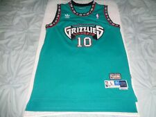 44b3c8ed5a6 Adidas NBA Vancouver Grizzlies Mike Bibby Stitched Jersey Mens Large +2  Length