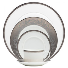 Waterford China Aras Grey 60Pc Set, Service for 12