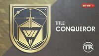 TITLE CONQUEROR (PS4/XBOX/PC)