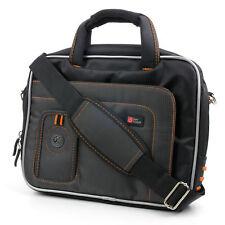 "Black/Orange Storage Case For Samsung Galaxy Tab 2 GT-P5110TSAXSA Tablet 10.1"""