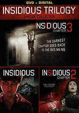 Insidious Trilogy (DVD, 2015, 2-Disc Set)