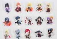 Naruto Cartoon Icons Badge Acrylic Badges Pin Brooch Japanese Manga Uzumaki