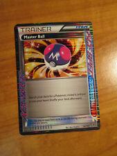 NM Pokemon MASTER BALL Card PLASMA BLAST Set 94/101 Black White Trainer Ace Item