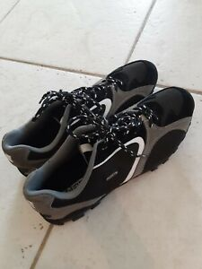 Forte Traverse IV Bicycle grey black and white Cleats 8.5 athletic shoe cycling