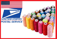 30 Assorted Colors 250 Yards, Sewing Machine Embroidery Thread Spools Polyester