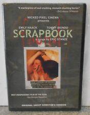 Scrapbook (DVD, 2005) VERY RARE HORROR THRILLER  BRAND NEW