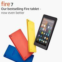 Amazon Kindle Fire 7 Inch 8GB Wi-Fi Tablet - Black Blue Yellow Red