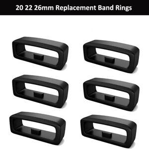 5Pcs Silicone Watch Strap Band Keeper Loop Ring For Garmin Fenix 6X 6X 6 Pro HR