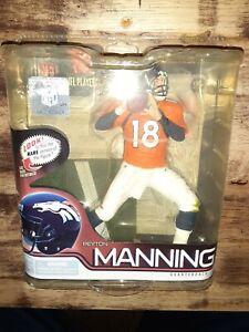 Peyton Manning 2011 NFL Mcfarlane Collectors Figure!🔥NFL'S Top 10 QB's #3🔥
