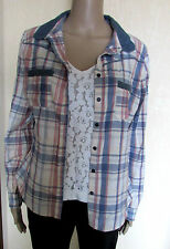 George Cotton Checked Tops & Shirts for Women