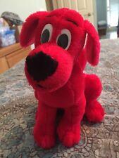 "Clifford The Big Red Dog 8"" Plush Toy Scholastic 2001 Stuffed Animal"