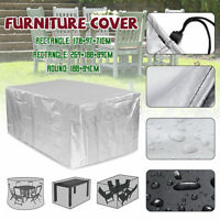 Waterproof Outdoor Stacking Furniture Cover Dustproof Garden Patio Table Chairs