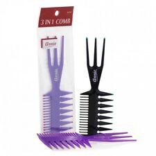 "ANNIE 3 IN 1 COMB SMALL 6"" #210 ASSORTED COLOR"