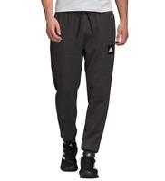 adidas MHE Stadium Training Pants Mens Small to XL New Black Melange Tapered Leg