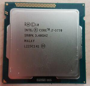 intel i7 3770 4 cores 8 threads 77w
