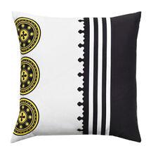 Decorative cushion PREMOLI DI BELLA Black square dinars