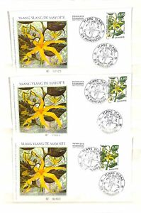[OPG723] Mayotte Flowers 1997 lot of 25x cover