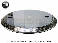 TECHNICS 1200 SERIES CUSTOM CHROME PLATTER ORIG PART MK2 MK3 M3D MK4 MK5 MK6 M5G