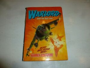 WARLORD BOOK FOR BOYS - Annual - Year 1988 - UK Annual ( Price Tab Intact)