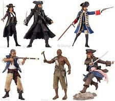 "Disney Pirati dei Caraibi Movie 6"" In Scatola Giocattolo Figure Set, INC JACK SPARROW"