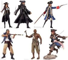 "Disney Pirates of the Caribbean Movie 6"" Boxed toy figure set, inc Jack Sparrow"