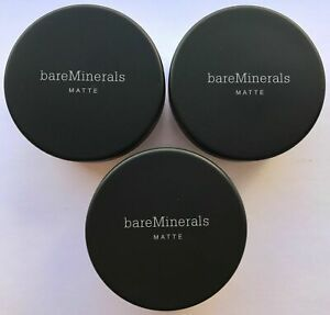 Bare Escentuals BareMinerals Foundation MATTE Medium C25 6g XL <PACK OF 3