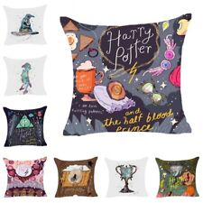 Cartoon Harry Potter Polyester Cushion Covers Sofa Throw Pillow Case Home Decor