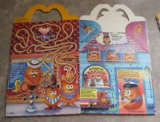 1988 McDonalds Happy Meal Box - McNugget Buddies - RARE!  #1