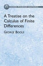 A Treatise on the Calculus of Finit by George Boole (Paperback, 2003)
