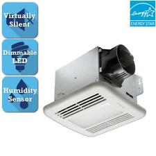 Delta Breez GreenBuilder Series 80 Cfm Ceiling Bathroom Exhaust Fan w/Led Light