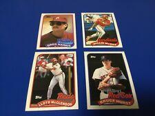 1989 Topps Baseball - #627 Greg Harris - Philadelphia Phillies
