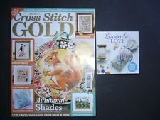 CROSS STITCH GOLD MAGAZINE - ISSUE 131 - AUG 2016 - INCLUDES FREE CHART*td