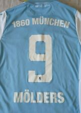 Camiseta Trikot Shirt 1860 MUNICH München TSV Macron 9 MÖLDERS Season 2018 Siz L
