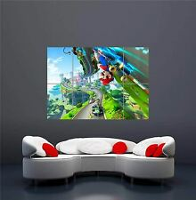 Mario K Xbox One PS 4 PS 3 Game PC Giant Wall Art Print Picture Poster Oz 1084