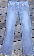 ROCK AND REPUBLIC WOMENS JEANS Size 30 Inseam 32 Straight Leg Gray Denim