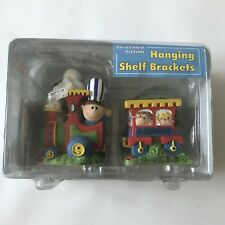 Slotz Hanging Shelf Brackets Bookends Childs Bedroom Playroom Nursery Train