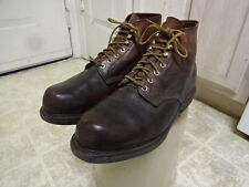VINTAGE RED WING CHUKKA BOOTS MADE IN USA MEN 11.5 D SUPER SOLE