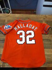 RARE AUTHENTIC 2005 BLUE JAYS ROY HALLADY MLB ALL STAR JERSEY PHILLIES HOF SEWN
