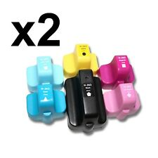 12x 363 363XL NONOEM COMPATIBLES Photosmart 7345 7355 7360 7363 7368 CYAN HQ