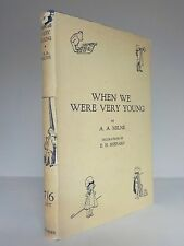 A. A. Milne - When We Were Very Young - Methuen - 1930 (ID:591)