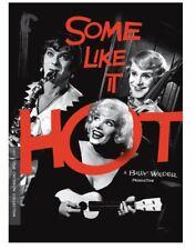 Some Like It Hot Dvd 2018 2-Disc Set Tony Curtis Marilyn Monroe Criterion Jack