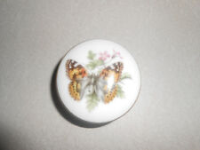 Royal Worcester Butterfly Trinket Box