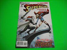 Supergirl #5 New 52- 1st app. of Reign.... HOT ISSUE. Odette Annable to play.