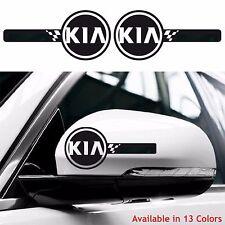KIA Custom Wing Mirror Body Decals Stickers Soul Sportage Rio Ceed Picanto ALL
