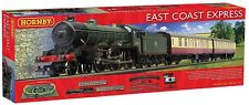 Hornby R1214 East Coast Express Complete Starter Steam Train Set West Ham United