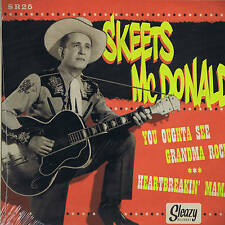 SKEETS McDONALD + EDDIE COCHRAN - YOU OUGHTA SEE GRANMA ROCK - HOT ROCKABILLY